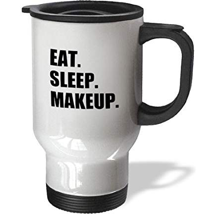 Sleep Makeup Travel Coffee Mug